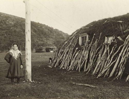Gamle bilder fra Laksefjord